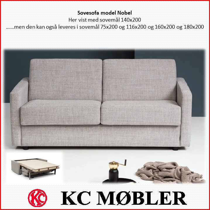 Sovesofa model Nobel - kvalitets sovesofa