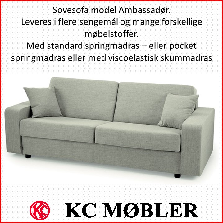 Sovesofa model Ambassadør
