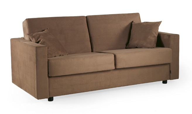 sovesofa model First med springmadras, pocketmadras eller viscoelastisk skum madras