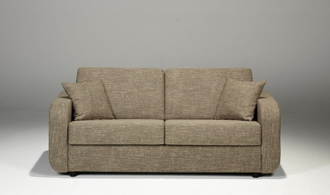 sovesofa model Scandinavie med springmadras, pocketmadras eller viscoelastisk skum madras