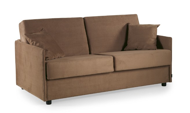 sovesofa model Space med springmadras, pocketmadras eller viscoelastisk skum madras